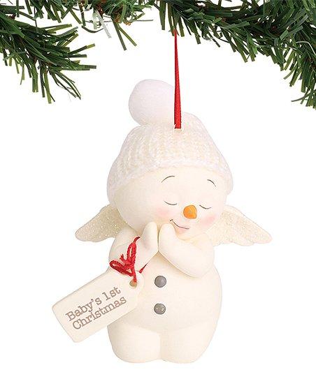 Department 56 Babys 1st Christmas Snowman Ornament Zulily