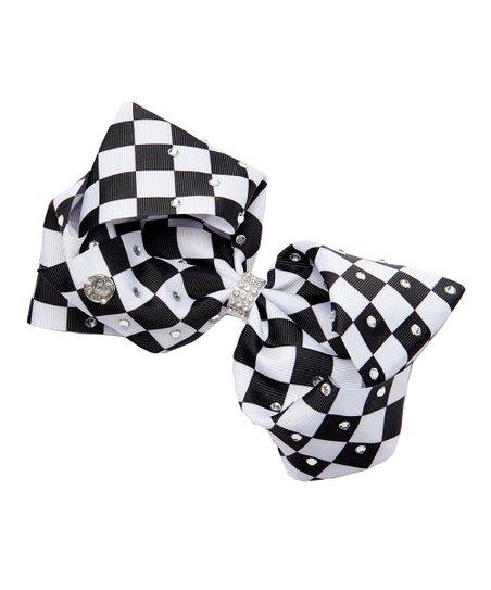 e0befbafb5d06 H.E.R. Accessories JoJo Siwa Black   White Embellished Checkerboard ...