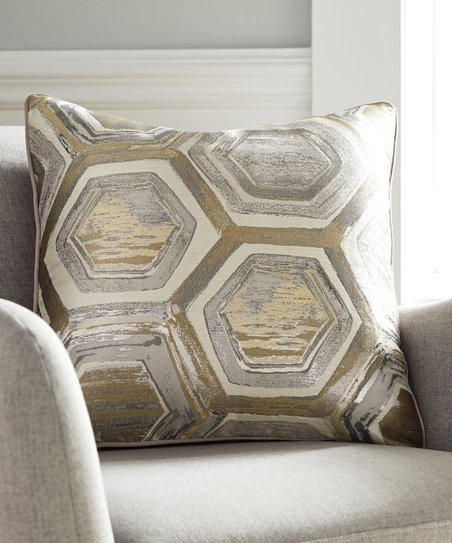 Signature Design by Ashley Furniture Gray & Gold Meiling Metallic