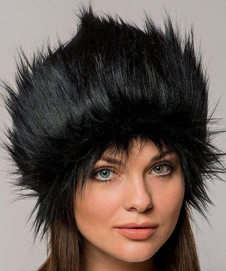 7519447cc5c47 love this product Black Faux Fur Hat