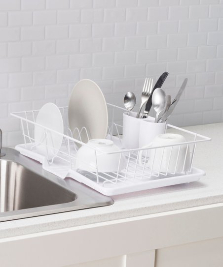 love this product White Essential Dish Rack 6a51ac3058