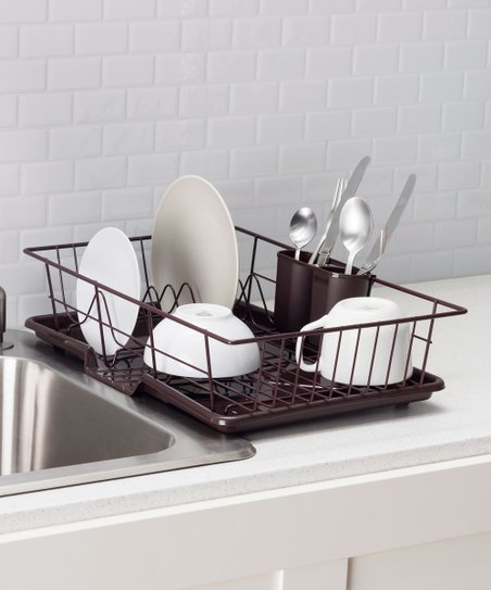 home basics Bronze Essential Dish Rack  2ef9231505