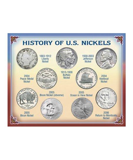 American Coin Treasures 'History of U S  Nickels' Set