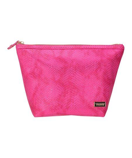 Stephanie Johnson Havana Pink Trapezoid Laura Cosmetic Bag  07e989b07e803