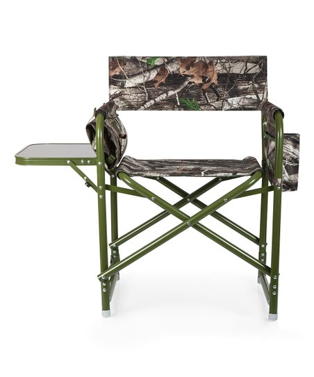 Incredible Oniva By Picnic Time Green Brown Camo Directors Outdoor Folding Chair Inzonedesignstudio Interior Chair Design Inzonedesignstudiocom