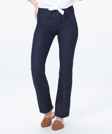 9ba8cfbcb3d NYDJ Dark Wash Billie Mini Bootcut Jeans - Petite