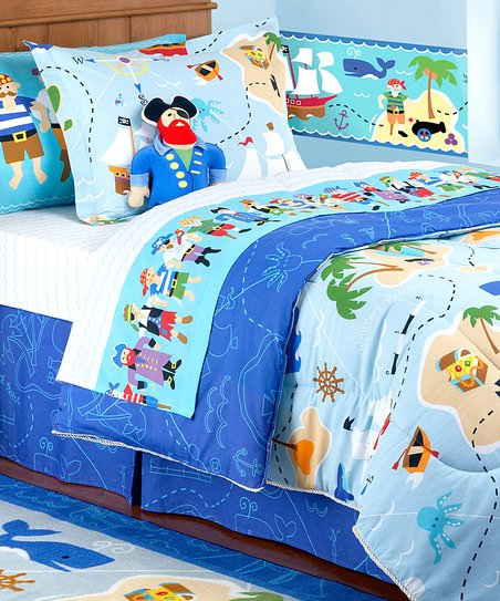 low priced 30022 bbc32 Olive Kids Olive Kids Pirates Toddler Bedding Set
