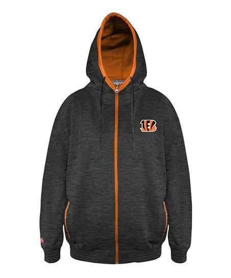 love this product Cincinnati Bengals Full-Zip Spacedye Hoodie - Men 655417681146