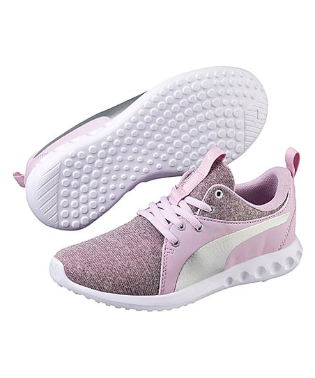 love this product Winsome Orchid   Silver Carson 2 Ribknit PS Sneaker -  Girls 602b86389