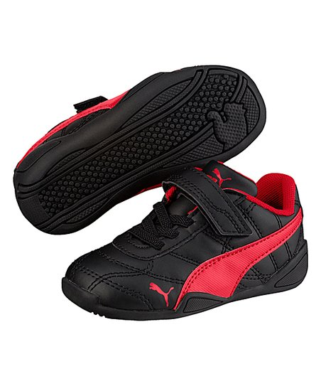 PUMA Black & Ribbon Red Tune Cat 3 V INF Sneaker Boys | Zulily