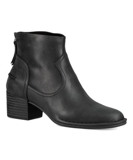 02bcabe9ab2 UGG® Black Bandara Leather Ankle Boot - Women