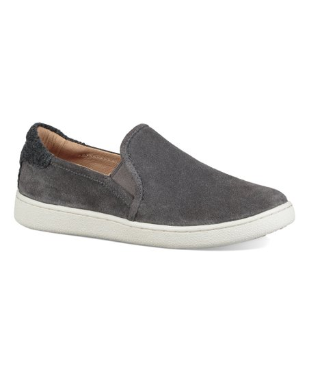 UGG® Charcoal Cas Suede Slip-On Sneaker