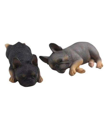 Petorama Rare Color 138 Sleeping French Bulldog Figurine