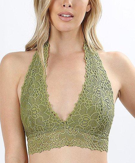 90609832c2a5b love this product Sage Lace Halter Bralette - Women