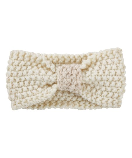 Stephan Baby Cream Chunky Knit Headband  321dd1a1368