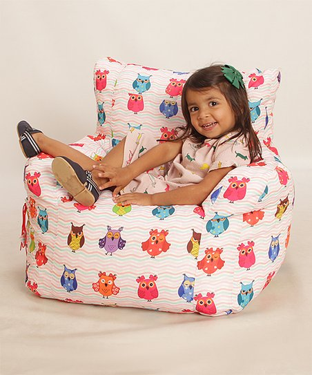 Swell Wow Works Owl Bean Bag Chair Zulily Machost Co Dining Chair Design Ideas Machostcouk
