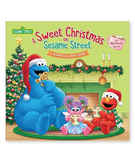 Random House A Sweet Christmas on Sesame Street Hardcover
