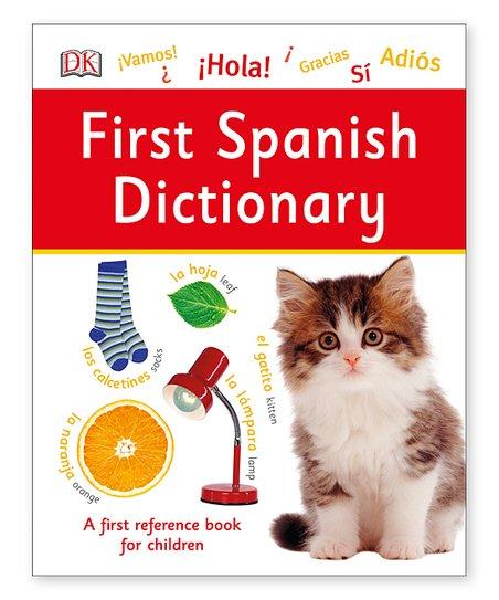 Random House First Spanish Dictionary Hardcover