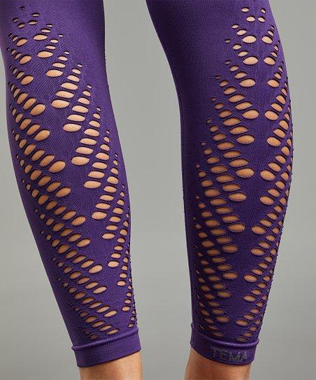 d8a151548e0d96 love this product Plum Seamless Leaf-Cutout Tummy-Control High-Waist  Leggings - Women & Plus