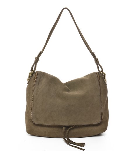 bf2275e399 Carla Mancini Olive Arielle Leather Crossbody Bag | Zulily