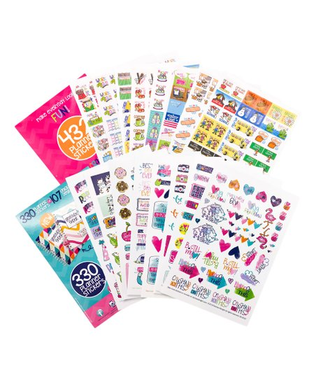 Reminder Binder® 762 Planner Stickers - (1) Busy Mom + (1) Grateful Heart
