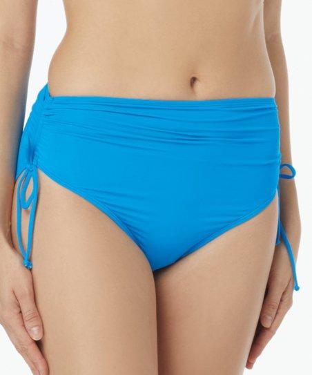 Beach House Blue Crush Hayden Side-Tie High-Waist Bikini Bottoms ... 96e326ad9