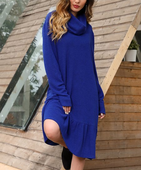 828c3a5b8d love this product Royal Cowl Neck Shift Dress - Women   Plus