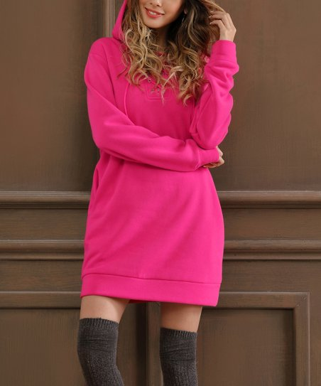 2e18f22ae3 Z Avenue Hot Pink Oversize Hoodie | Zulily