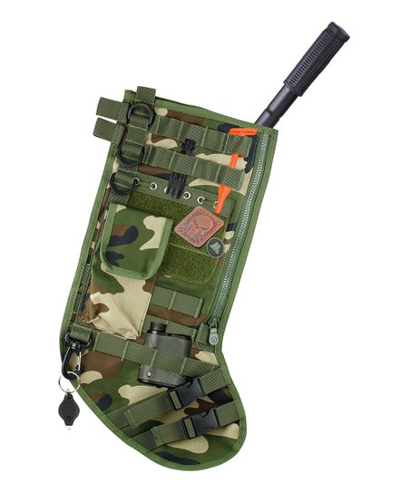 Tactical Christmas Stocking.Barbuzzo Tactical Christmas Stocking Zulily