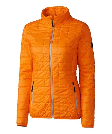 a938eb09 Cutter & Buck Orange Rainier Windbreaker - Women & Plus   Zulily