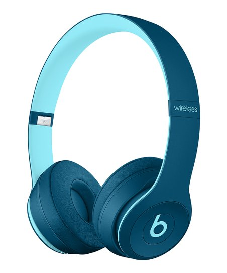 Beats by Dre Blue Beats Solo3 Wireless On-Ear Headphones  f1df2bec7