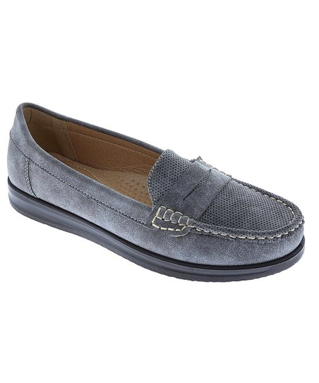 99c67ab90b2 Weeboo Gray Penny Loafer - Women
