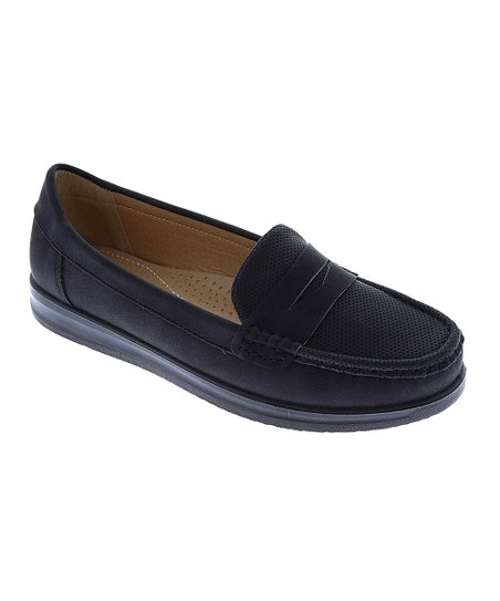 f9d86c40b6499 Weeboo Black Penny Loafer - Women | Zulily