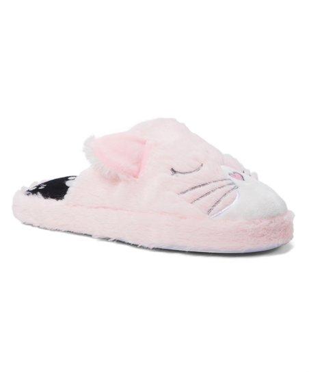 c97bbd9bdfe Shoe Box Trading Pink Cat Slipper - Women