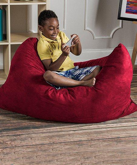 Astounding Cherry 3 5 Pillowsak Jr Bean Bag Zulily Unemploymentrelief Wooden Chair Designs For Living Room Unemploymentrelieforg