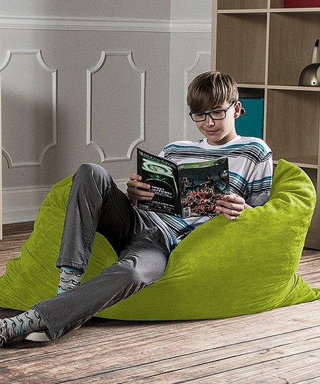Astounding Lime 3 5 Pillowsak Jr Bean Bag Zulily Unemploymentrelief Wooden Chair Designs For Living Room Unemploymentrelieforg
