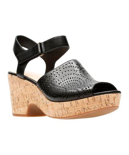 2507a3983940 Clarks Black Maritsa Nila Leather Sandal - Women