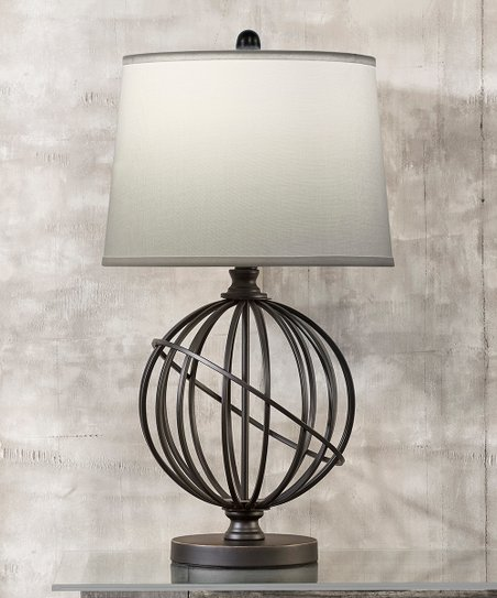 Metal Sphere Table Lamp Zulily