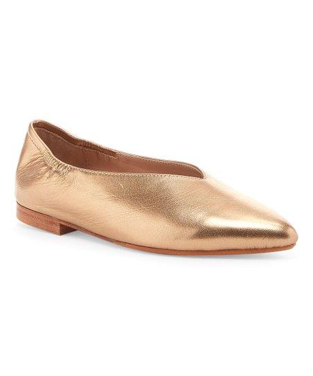 982e98eba Pour la Victoire Sahara Colt Leather Flat - Women | Zulily