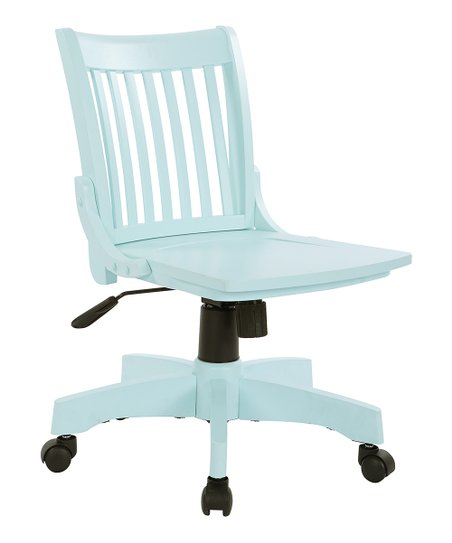 Avesix Mint Deluxe Armless Swivel Chair Zulily