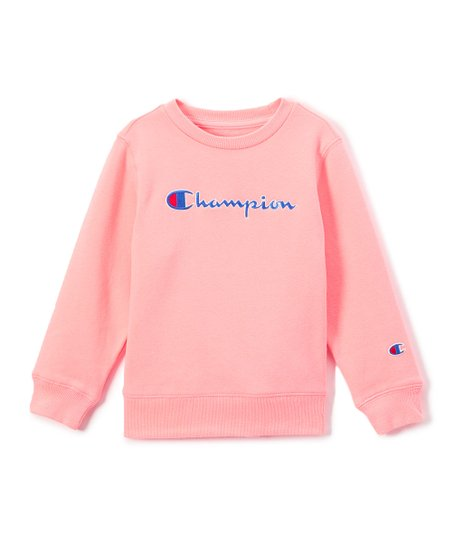 a648c22319ee love this product Pink Bow Crewneck Pullover - Toddler   Girls