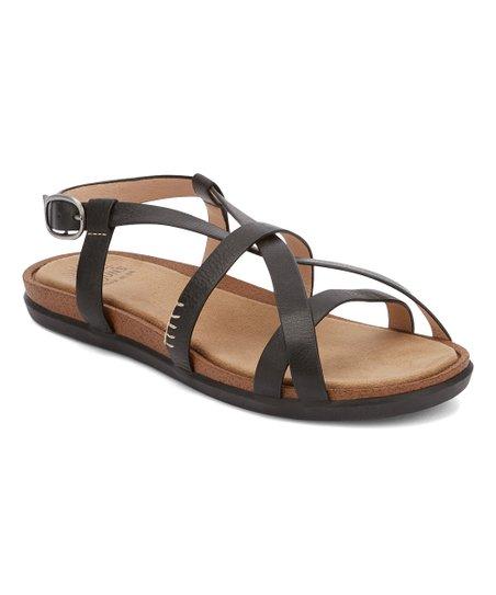 eb90625f09b055 G.H. Bass   Co. Black Margie 2.0 Leather Sandal - Women