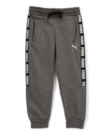 fbddcf1309f2 PUMA Gray Fleece Joggers - Boys