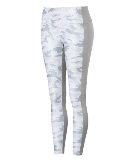 0f42d3aef43ad PUMA Light Gray Heather Camouflage Modern Sport Leggings - Women ...