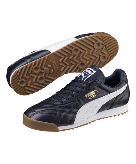 ROMA Anniversario Leather Sneaker - Men