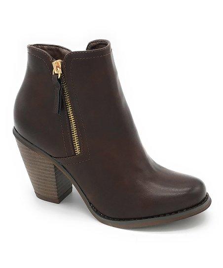 17402c74e903 J. Mark Brown Irene Ankle Boot - Women   Zulily