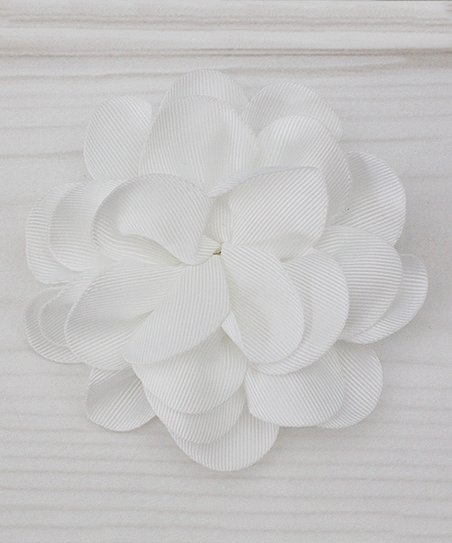 Dress Up Dreams Boutique White Flower Hair Clip Zulily