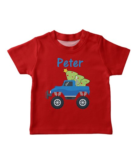 825d529e360 love this product Red Car   Tree Personalized Tee - Infant