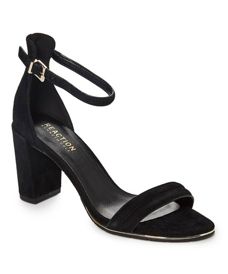 05d2901d841 Kenneth Cole Reaction Black Lolita Suede Sandal - Women