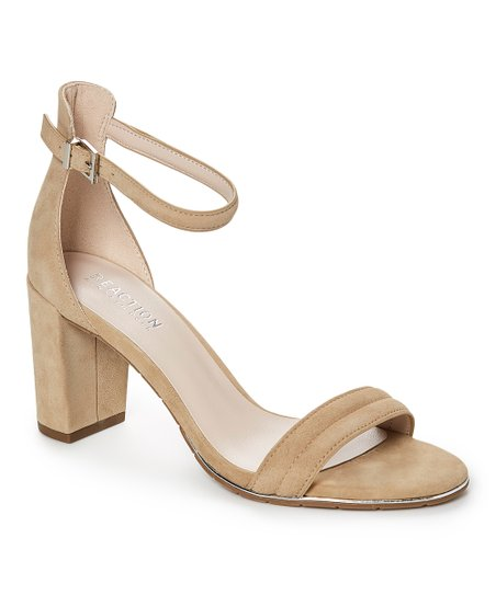 6d943aa4dfc Kenneth Cole Reaction Taupe Lolita Suede Sandal - Women
